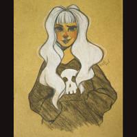 Skull hoody by Misspingu