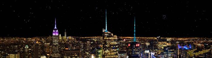 Retourtje New York by FredsterNL