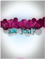 Are you creative ? by adc7madridista