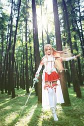 Sword Art Online by EvangelineMakikiyam