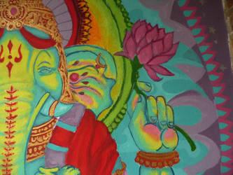 Ganesha (detalle) by MaeSCIho