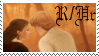Ron and Hermione by phoenixtsukino
