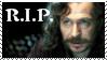 R.I.P. Sirius Black by phoenixtsukino