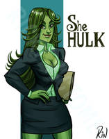 She Hulk by Rinexperience