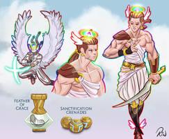 Seraphim Warrior by Rinexperience