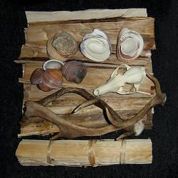 Tribal content. The kitchen of an artist. by jostrartat