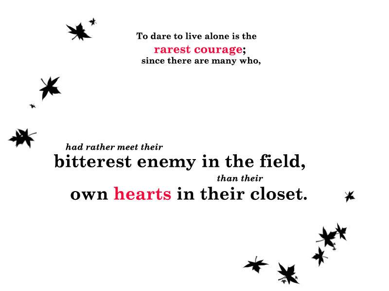 Rarest Courage by 1JesusOfSuburbia