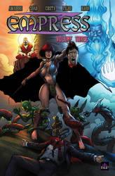 Empress - Vol 3 TPB cover by IsleSquaredComics