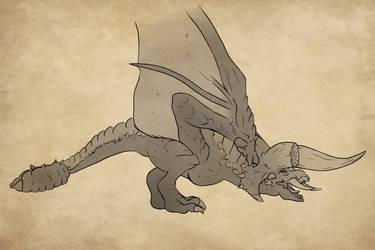 Diablos Sketch by Lahley
