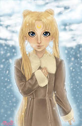 Snowy Usako by patte2moco