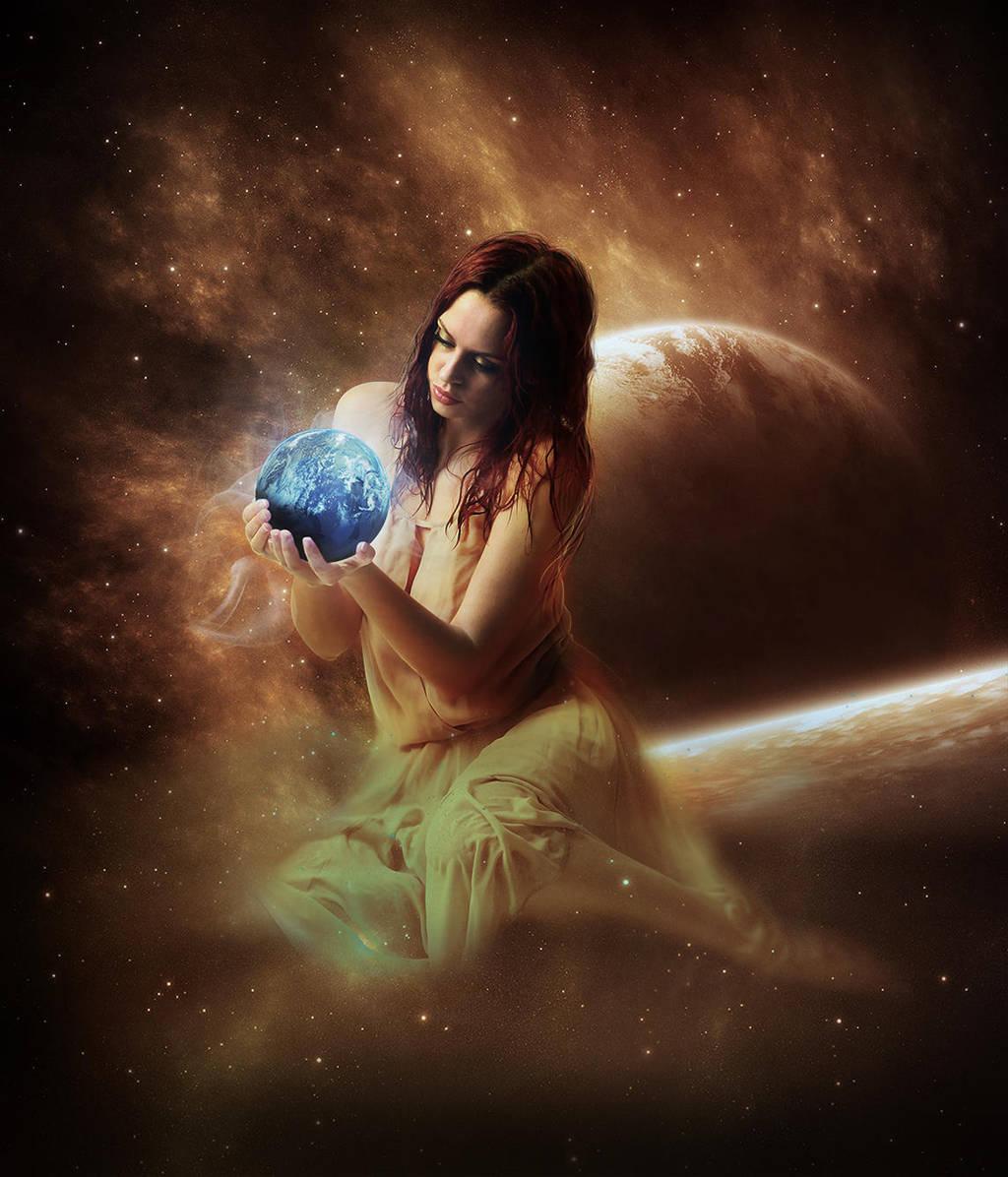 Goddess of  Earth by guruakki