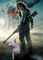 Winter Soldier and His Daemon by LJ-Todd