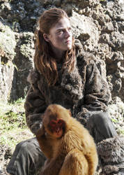Ygritte and Her Daemon by LJ-Todd