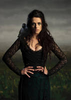 Morgana and Her Daemon by LJ-Todd