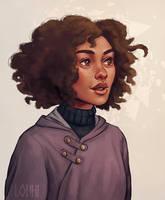 Hermione Granger by LouhiArt