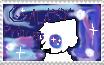 Galaxy Princess Wolf stamp by aregulardaydrea