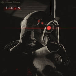 Mass effect Legion by Demon551