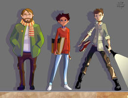 OC LineUp by nfouque
