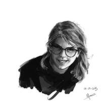 Study: Taylor Swift by nfouque