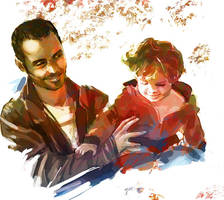 Study: father and son by nfouque