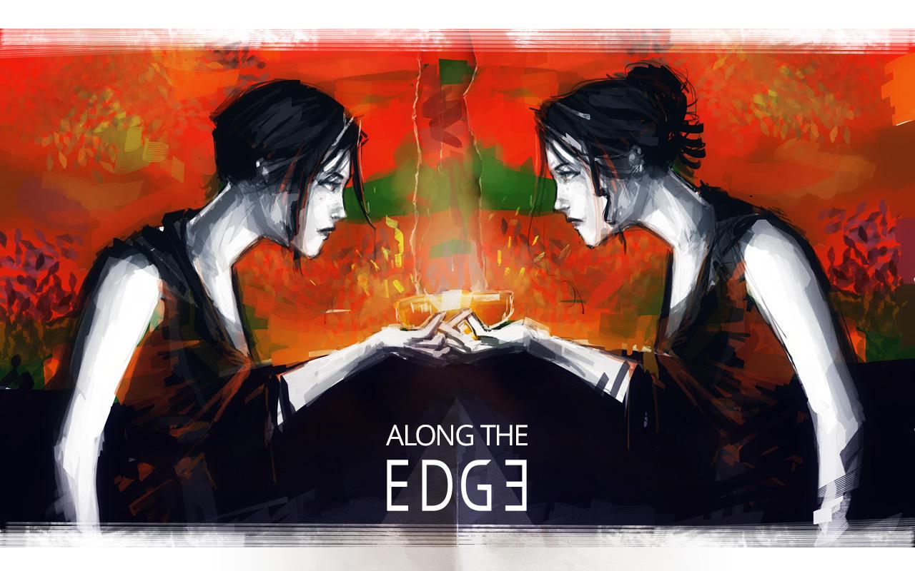 Along the edge: concept art by nfouque