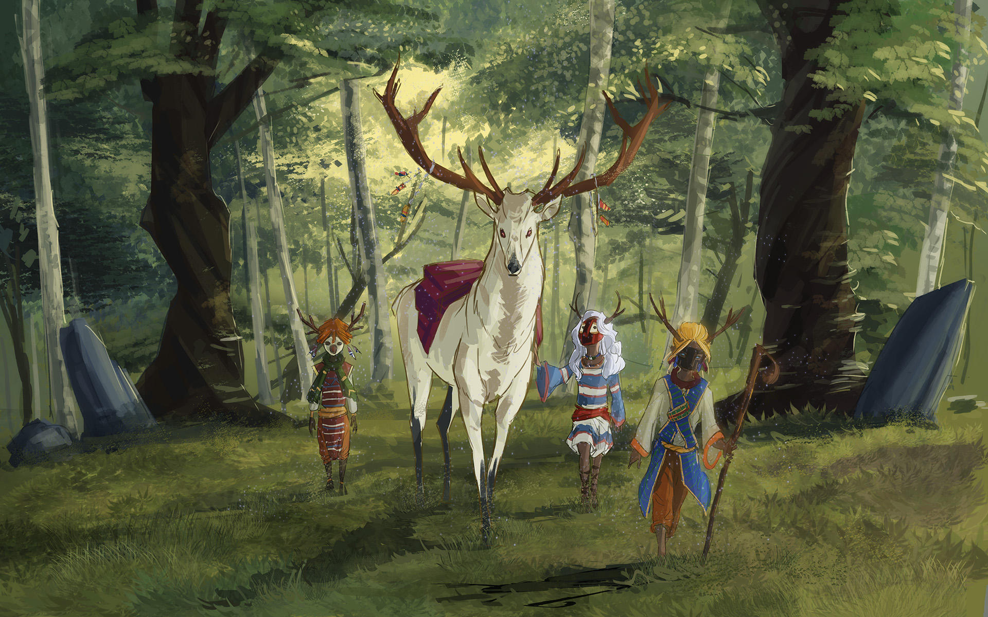 Children of the forest by nfouque