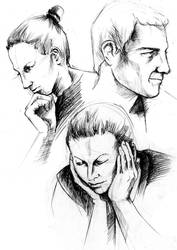 Face studies01 by shirua