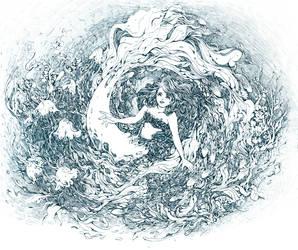 The Little Mermaid by shirua