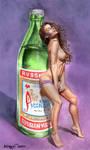 Soviet brand. Vodka-Cola by Yuran1