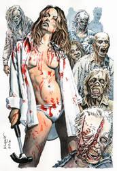 Zombie Killer. Contract Killer Zombies by Yuran1