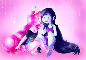 Bubbline love by LumiPop