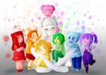 Mitty's 7 Toddlers | Fanart by LumiPop