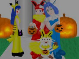 Rocket Halloween 2 by MikariStar