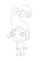 Fachi Troll Lineart by MikariStar