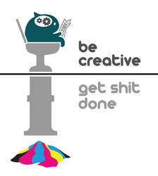cmyk part2: be creative by AmateurWorks