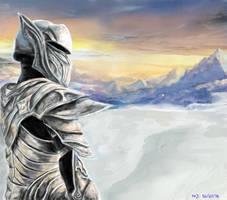 The Ebony Warrior by FOX232