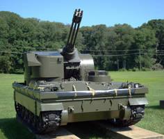 Gatling Tank by PrinzEugn