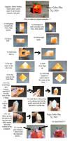 Origami Pumpkin Tutorial by Dragon-Celtic-Chan