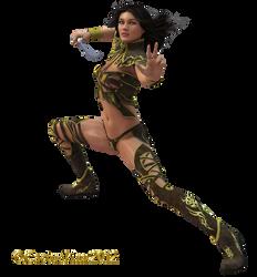 Warrior Maiden 1 KL by cactuskim