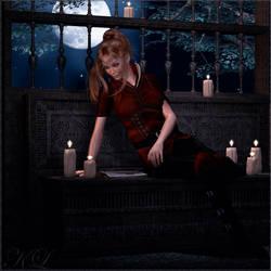 Dark moods Elf Maiden KL by cactuskim