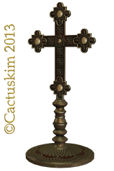 Cross Gilt KL by cactuskim