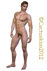 Male figure_Full frontal classic nude_ KL by cactuskim