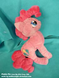 Pinkie Pie Plush Fail by Wolflessnight