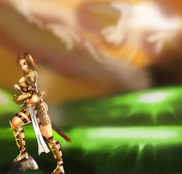Armor Maiden by amateurbrazilian