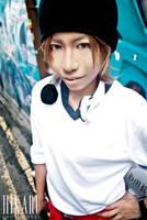 K: Yata Misaki - Grin by ruby-hearts