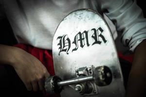 K: Yata Misaki - Skateboard by ruby-hearts
