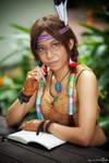 Tekken: Julia Chang - Archaeologist by ruby-hearts