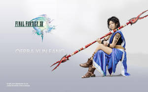 Oerba Yun Fang - poster by ruby-hearts