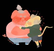 hug by Fingurken