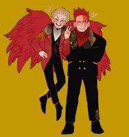 phoenix suits by Fingurken